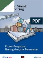 Daftar Simak Monitoring 2009