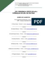Modelo de Relatório IFMT-BLV - Daniela - Quimica de Alimentos