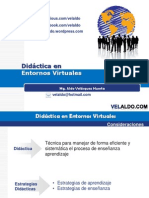 Didactic a Virtual