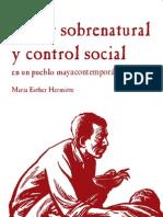 Poder Sobrenatural y Control Social