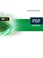 Ansys Maxwell Brochure 14.0