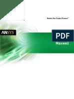 Ansys Maxwell Brochure 14.0
