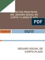 Aspectos Operativos Seguro Social en Bolivia