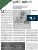Resurrection. Michelangelo's Miracle. Chapman, Hugo. Tablet.
