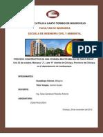 Informe Final-proceso Constructivo