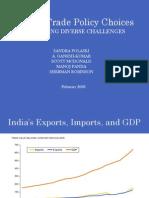 India Trade Choices