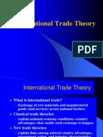 Trade Theory