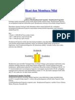 Mengindentifikasi Dan Membaca Nilai Kapasitor