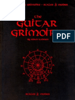 The Guitar Grimoire - Scales Modes