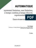 Automatique - Systémes linéaires et non linéaires [www.agnagan.blogspot.com]