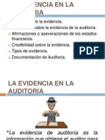 Evidencia en la Auditoria Dic. 2012.ppt