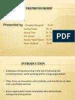 Employee Entrepreneurship