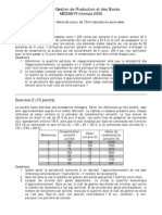 UTBM Gestion de Production Et Des Stocks 2006 IMAP 2