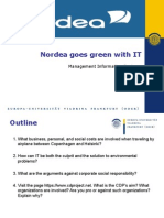 Nordea goes green with IT