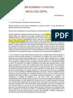 Meszaros, Istvan - La Teoria Economica y La Politica