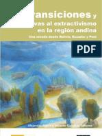 Transiciones y alternativas al extractivismo en la región andina.