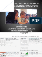 Engaging Students in the Learning Commons in the 21 Century by Pippa Davies
