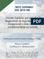 Decreto Supremo 055 2010 Em