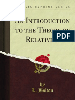 An Introduction to the Theory of Relativity 1000000235