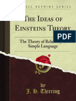 The Ideas of Einsteins Theory 1000003692