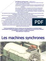 Machines Synchrones