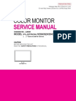 LG W4320S Service Manual