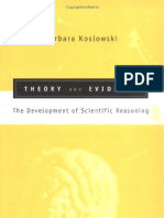 Koslowski - Theory and Evidence. the Development of Scientific Reasoning