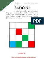 Sudokus Coloreando 4x4 Fichas 41 60