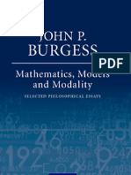 Math, Models and Modality