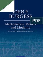 Math, Models and Modality
