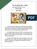 Biografia de Lope de Vega y Carpio