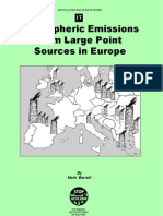 Atmospheric Emissions From Large Point Sources in Europe