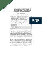 "57 Wayne L. Rev. 1367 - THE GOLDEN ANNIVERSARY OF THE ""PRELIMINARY STUDY - Edward J. Imwinkelried"