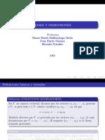 Bases y Dimensiones (Algebra Lineal)