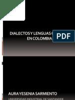 Dialectos y Lenguas Criollas en Colombia