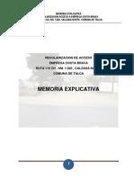 Memoria Explicativa Constructora Costa Brava