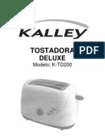 Tostadora Deluxe k Td200