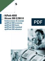 Manual Otros Optipoint 500