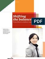 Shifting the Balance 2011