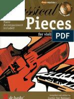 Classical Pieces-easy Violin