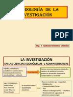 METODOLOG�A  DE  LA  INVESTIGACI�N - 2011-I.pptx