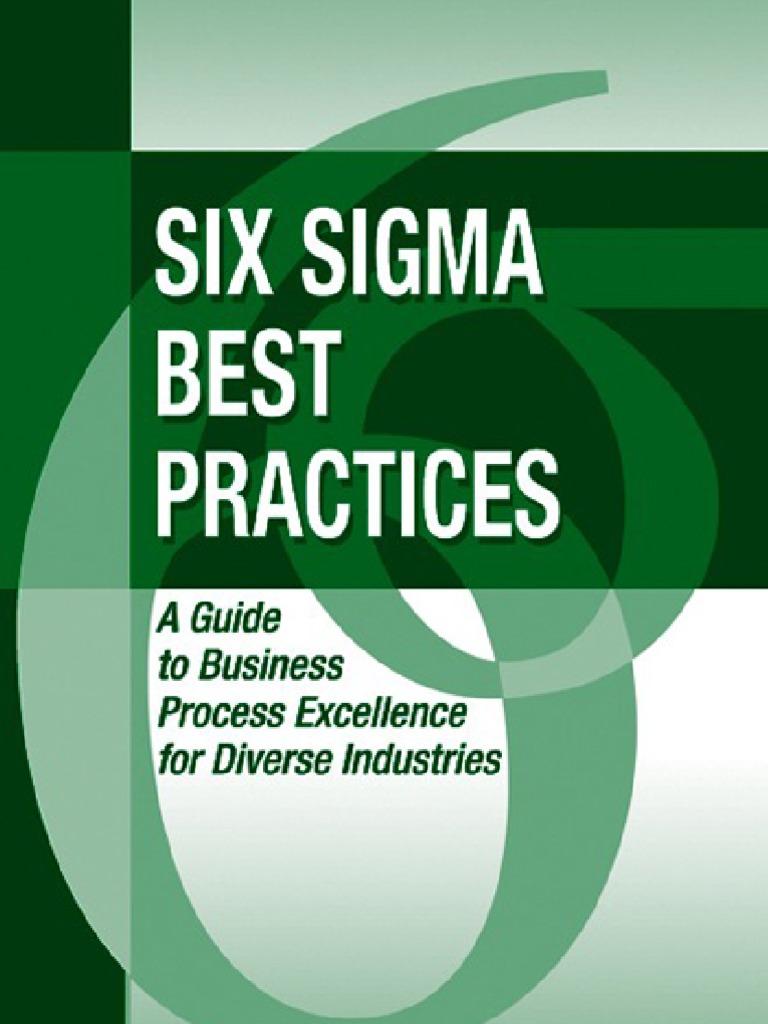 Six sigma best practices six sigma business process buycottarizona