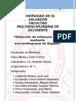 Ecocardiograma Doppler Reporte Gt1
