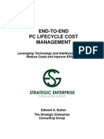 End-To-End PC Lifecycle Cost Management