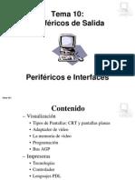 Tema07b Perifericos de Salida
