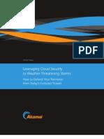 Akamai Cloud Based Security White Paper