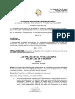 Ley Orgánica de la Fiscalía General del Estado de Chihuahua