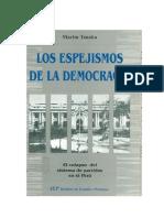 Martin Tanaka, Los Espejismos de La Democracia
