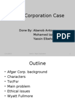 Afgar Corporation Pres.