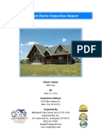 Sample 1-877-INSPECT Premium Home Inspection Report